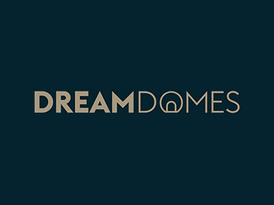 dream domes logo with background