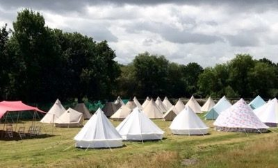 glamping tipi tent hire 01