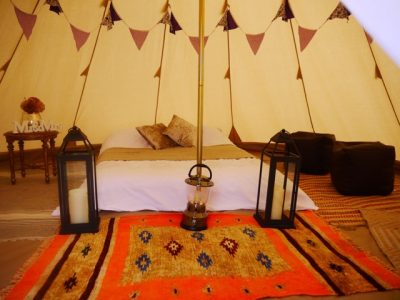 glamping tipi tent hire 03