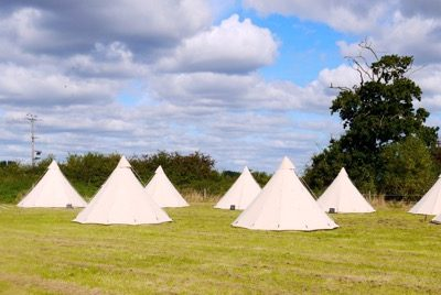 glamping tipi tent hire 04