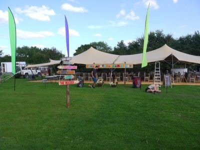 hire stretch tent berkshire 02