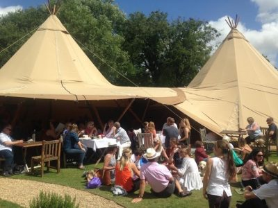 hire tipi in reading 01