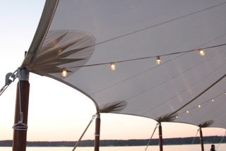 sailcloth tent hire events in reading berkshire