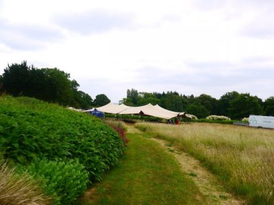 stretch tent hire berkshire 01