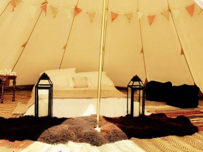bridal tipi glamping tent hire 01