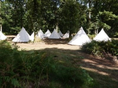 glamping hire reading berkshire 2
