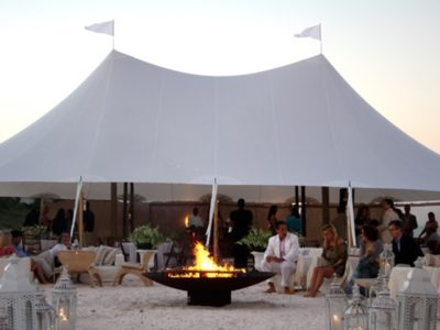 sailcloth tent marquee hire 01