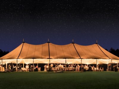 sailcloth tent marquee hire 02