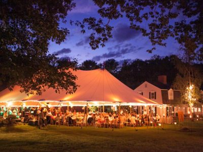 sailcloth tent marquee hire 10