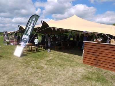 stretch tent hire berkshire 04
