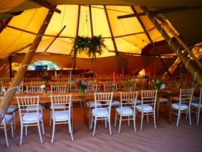 tipi hire weddings berkshire 1